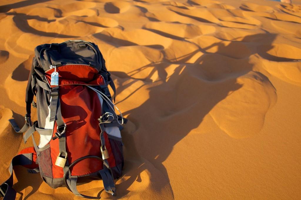 バックパック 砂漠