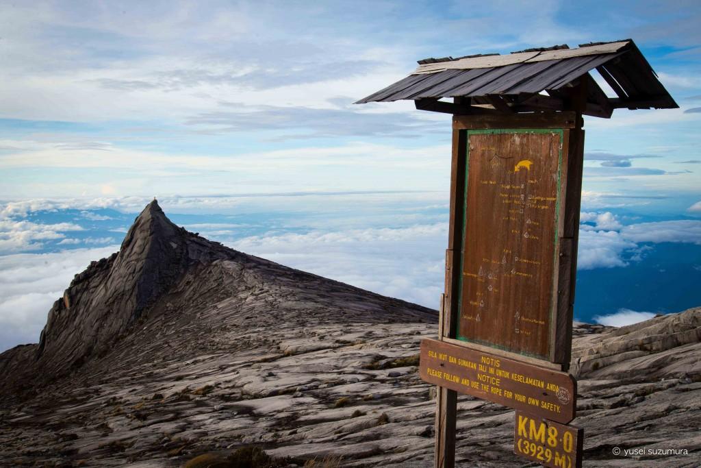 キナバル山写真スポット