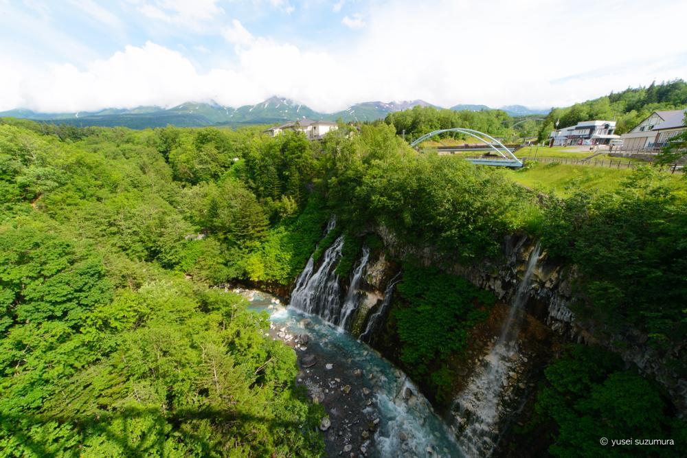 白ひげの滝 広角