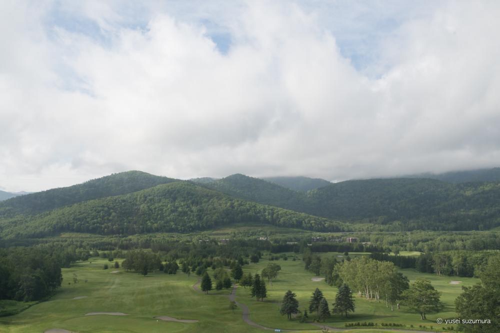星野リゾート 窓からの景色