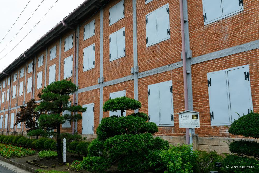 富岡製糸場 壁