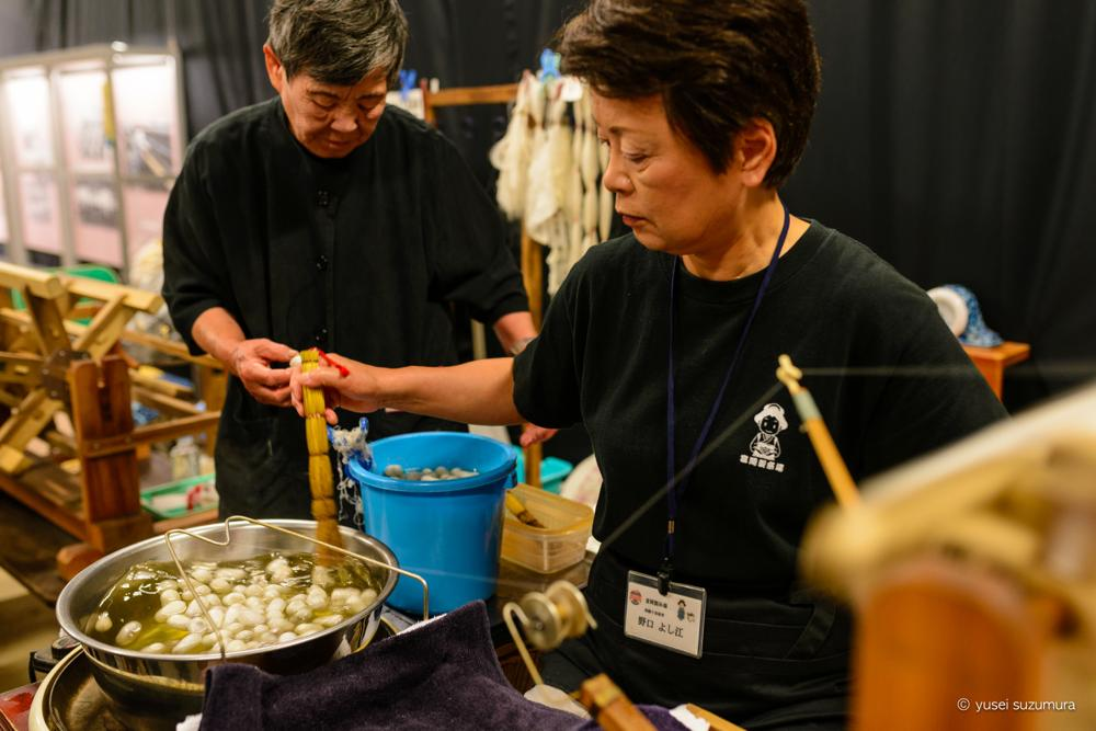 絹糸 体験