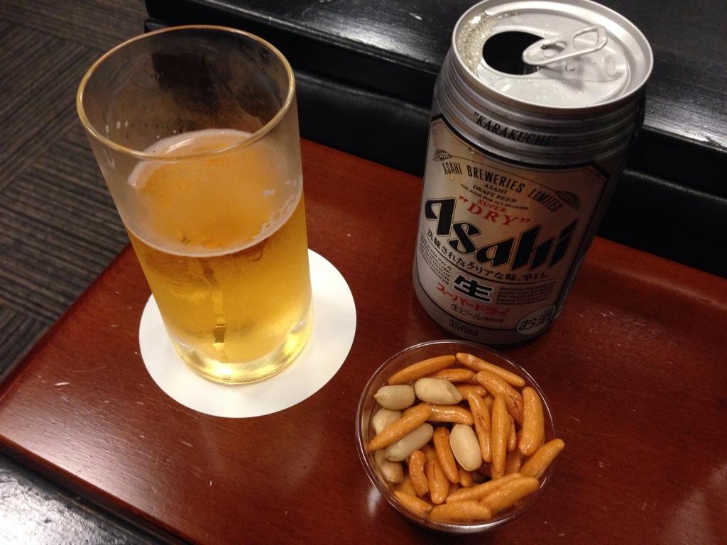 缶ビール サービス