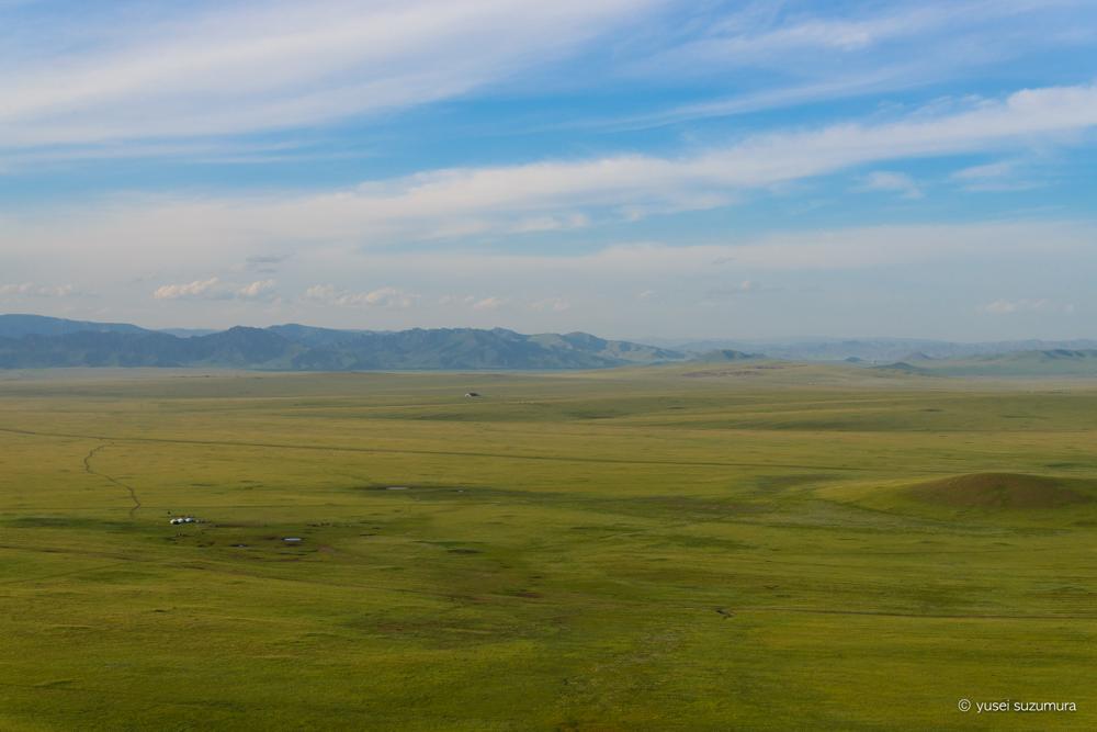 モンゴル 絶景