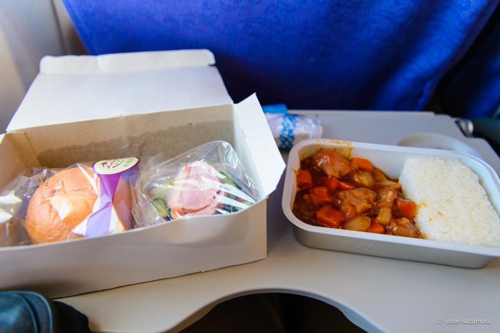 エアチャイナの機内食