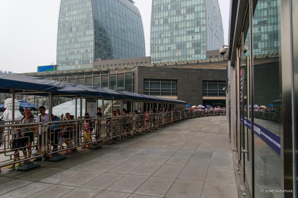 北京北駅 列