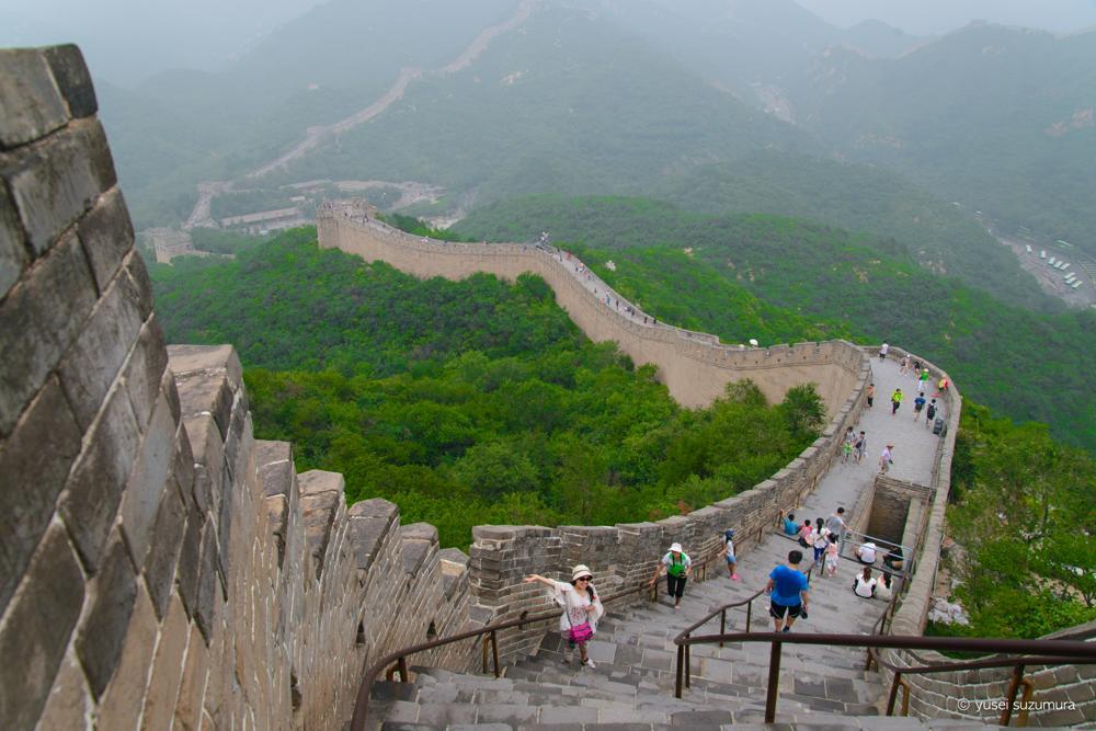坂 万里の長城