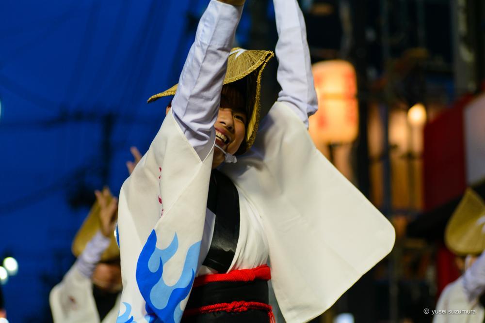 下北沢一番街阿波おどりのレベルが高い!ニッポンのお祭りはやはり面白いです。