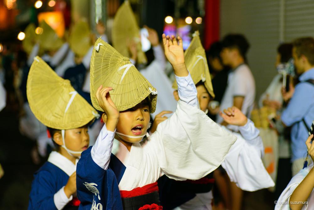 阿波踊り 子供