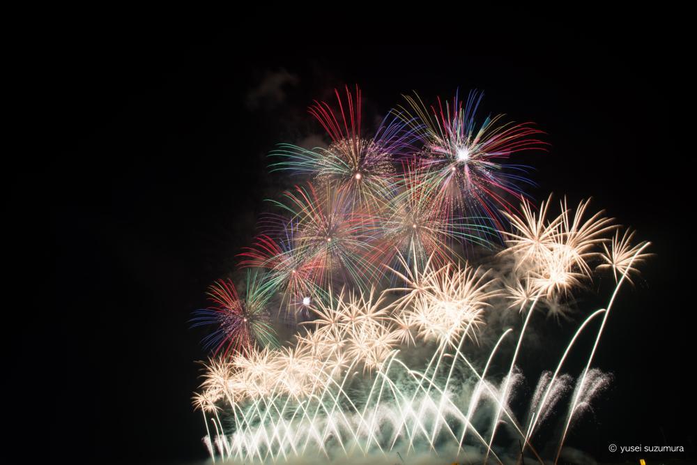 全国花火競技大会の大会提供花火