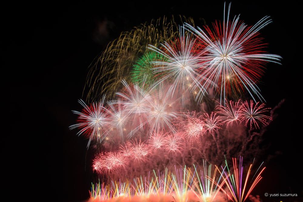 花火師の本気を観よ!大曲の花火で体感する花火の創造性と美しさ。