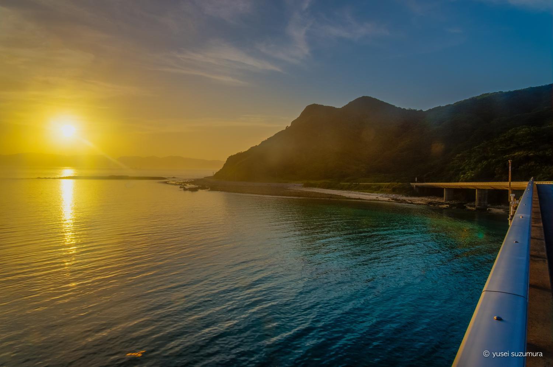 阿嘉島の朝