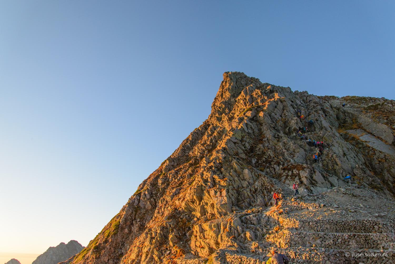 日本第三位の標高!奥穂高岳に登る。