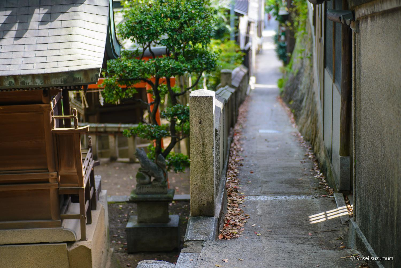 千光寺への坂