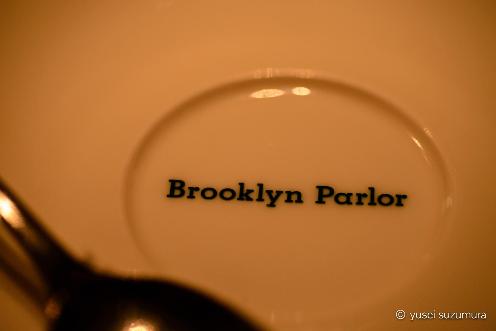 ブルックリンパーラーのプレート