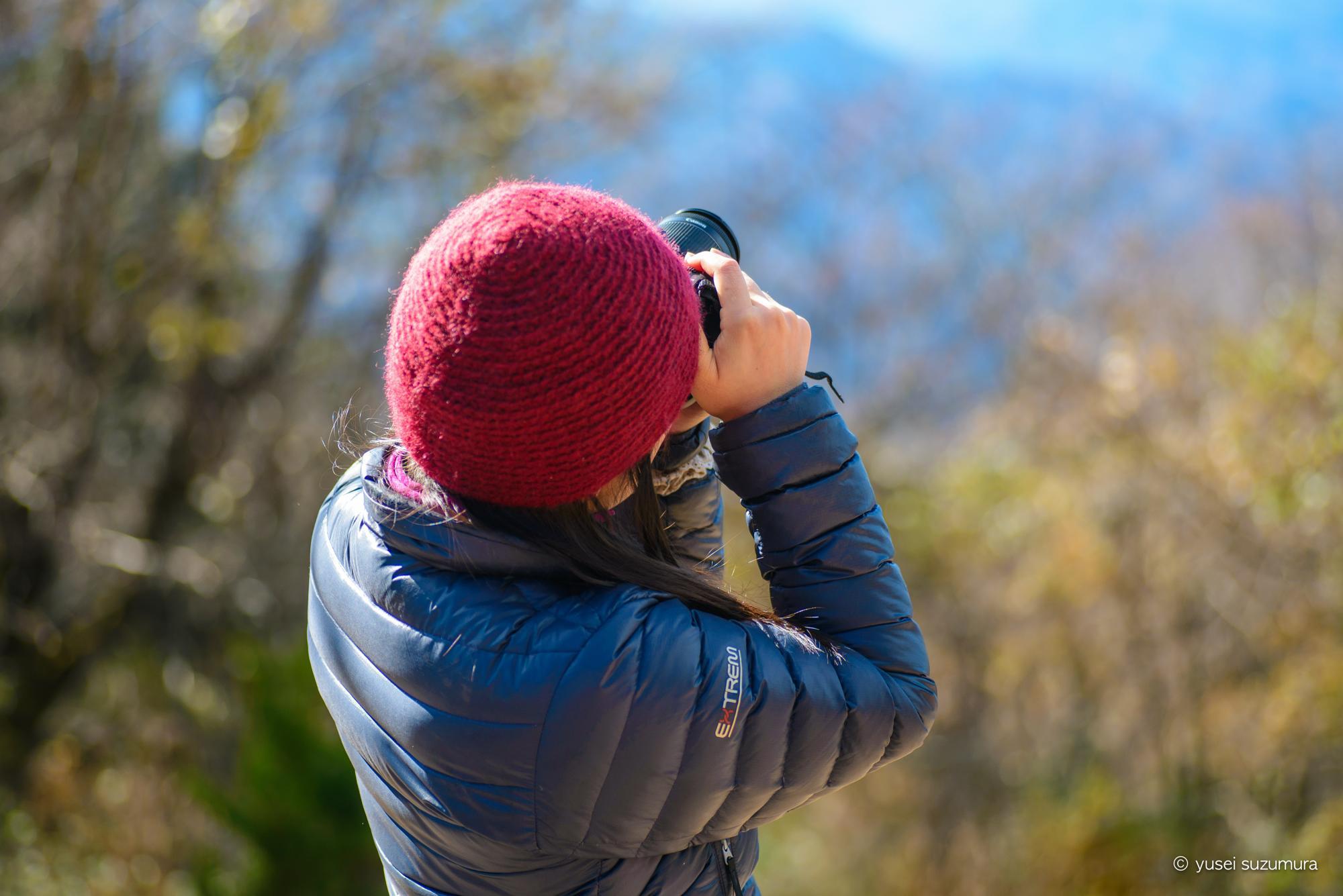 タムロン90mm単焦点で撮影した女性