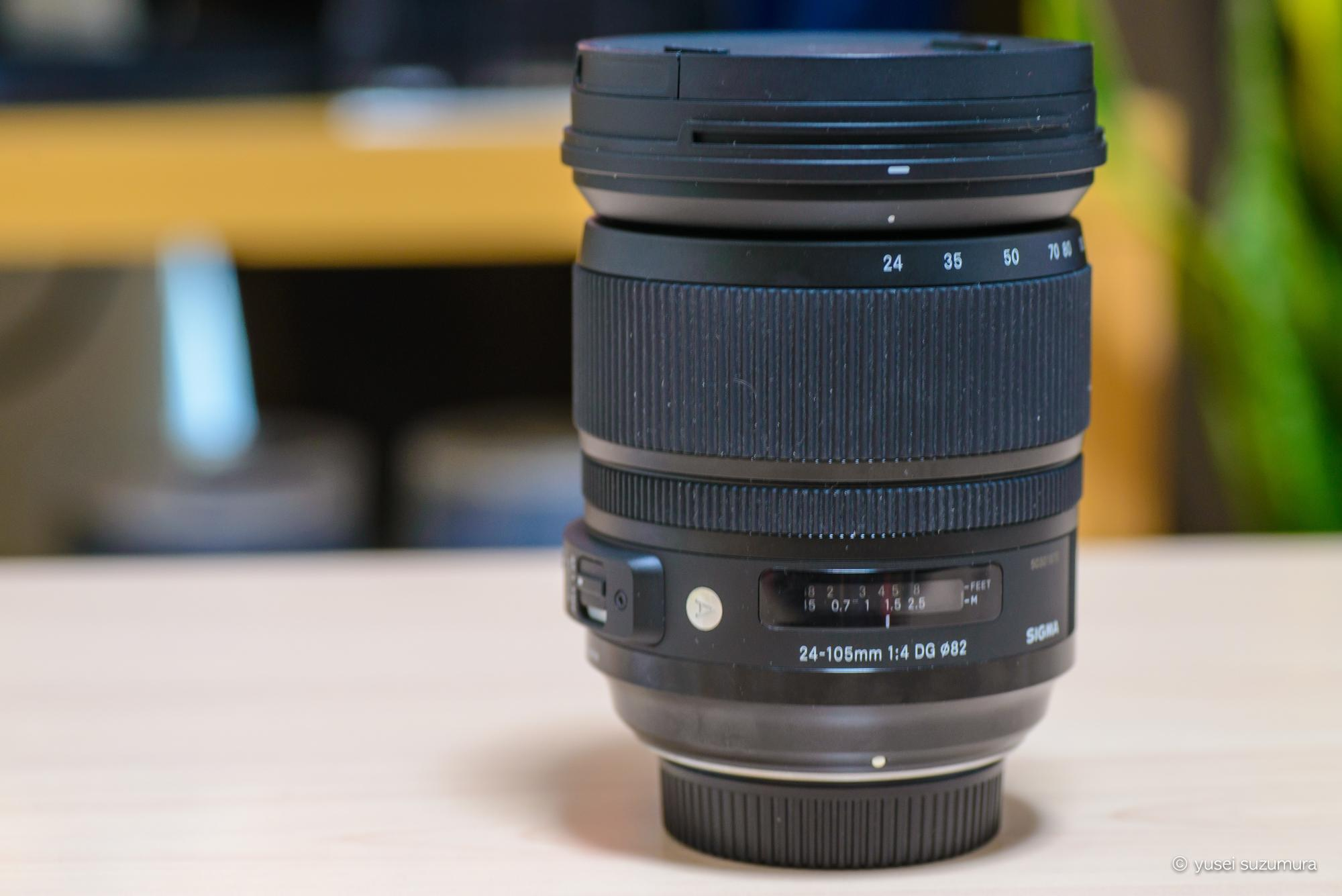 SIGMA 24-105mm F4 DG OS HSM  ART 本体