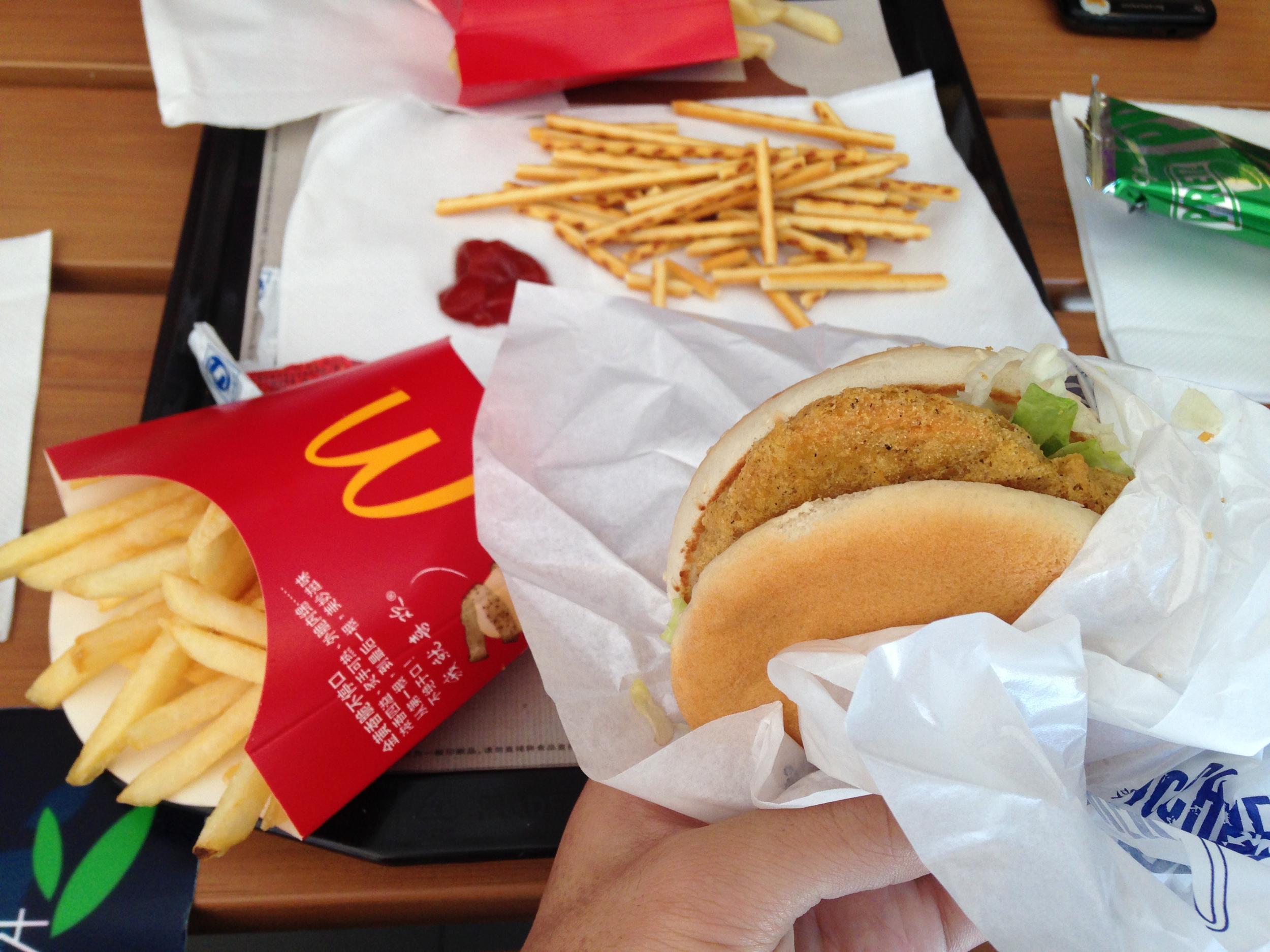 武陵源でマクドナルド
