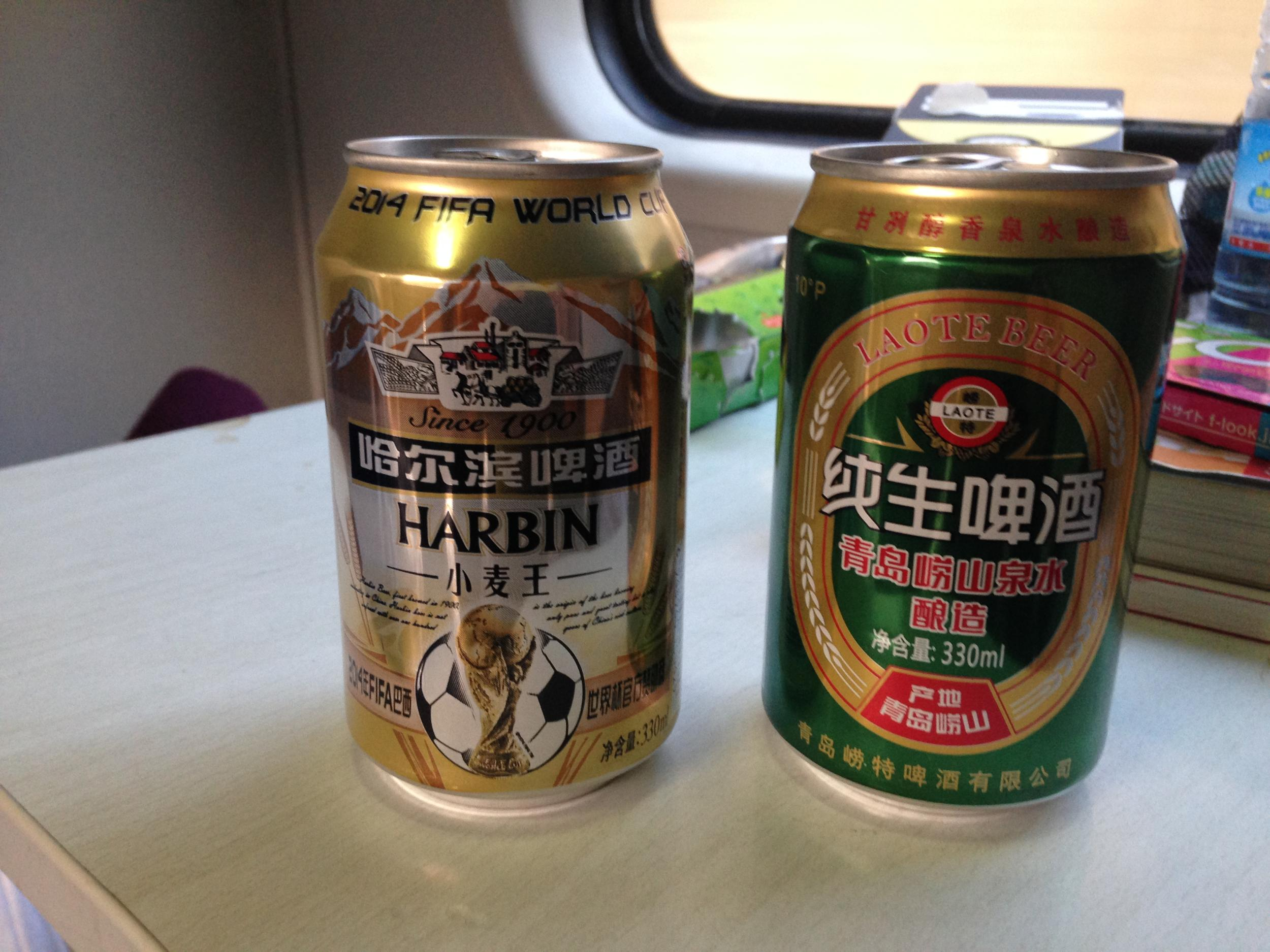 中国 電車 ビール