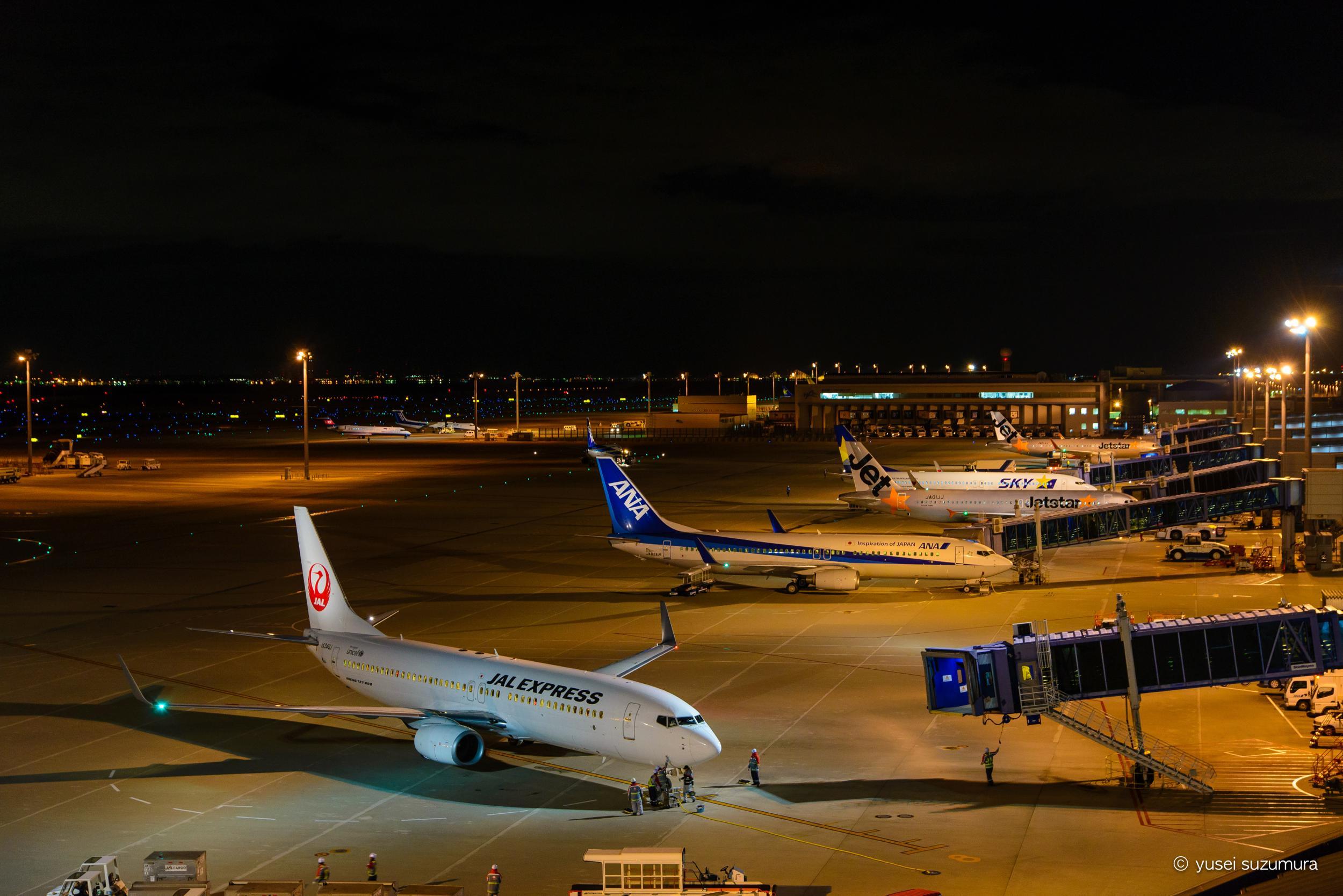 中部国際空港 発着場