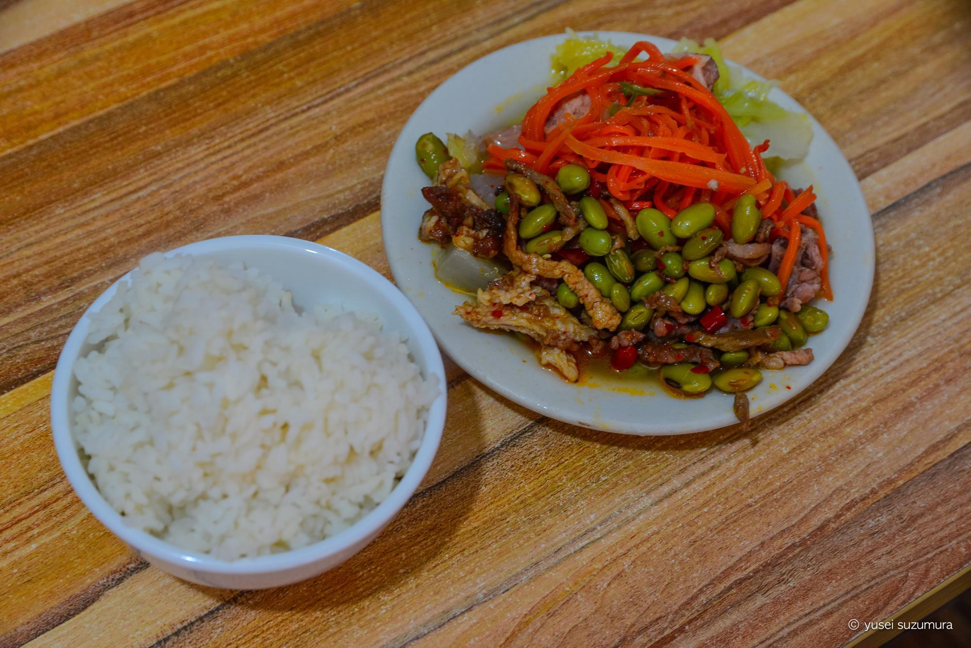 懐化で昼食 中国