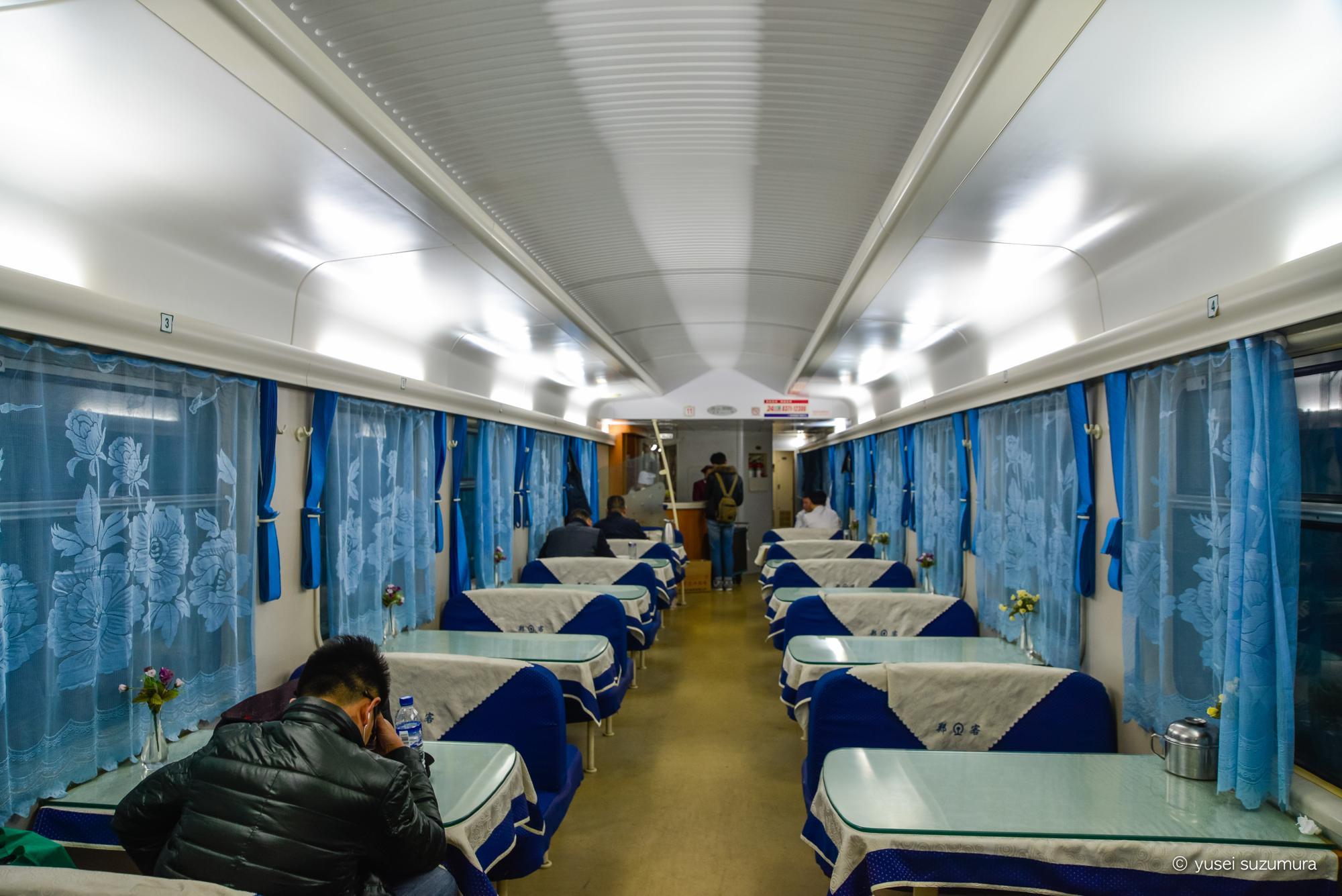 食堂車 中国 列車