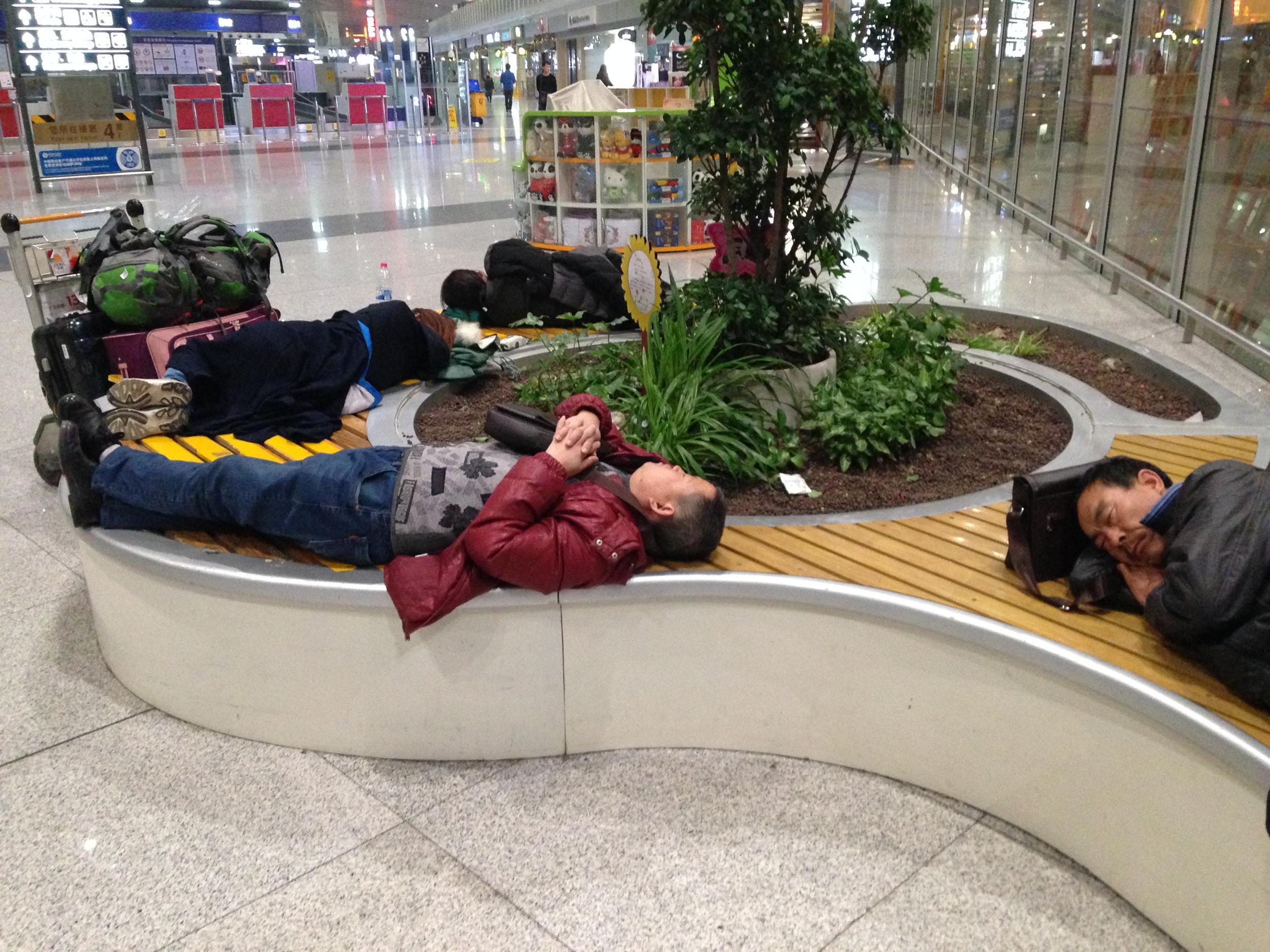 北京 空港泊