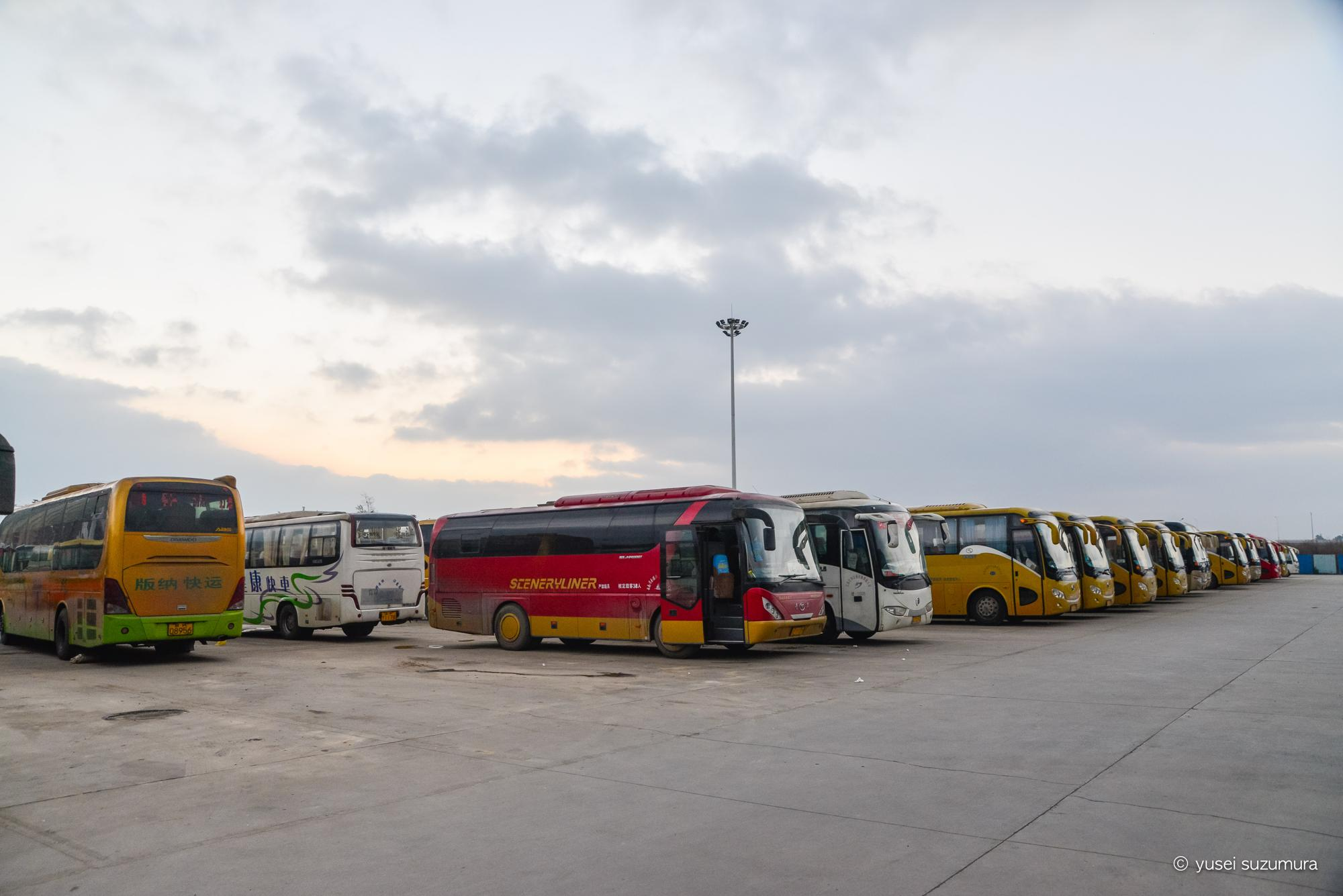 元陽から昆明への夜行バス