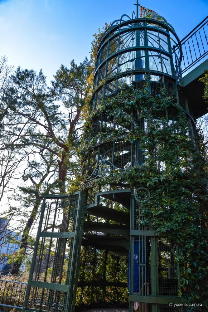 螺旋階段 ジブリ美術館