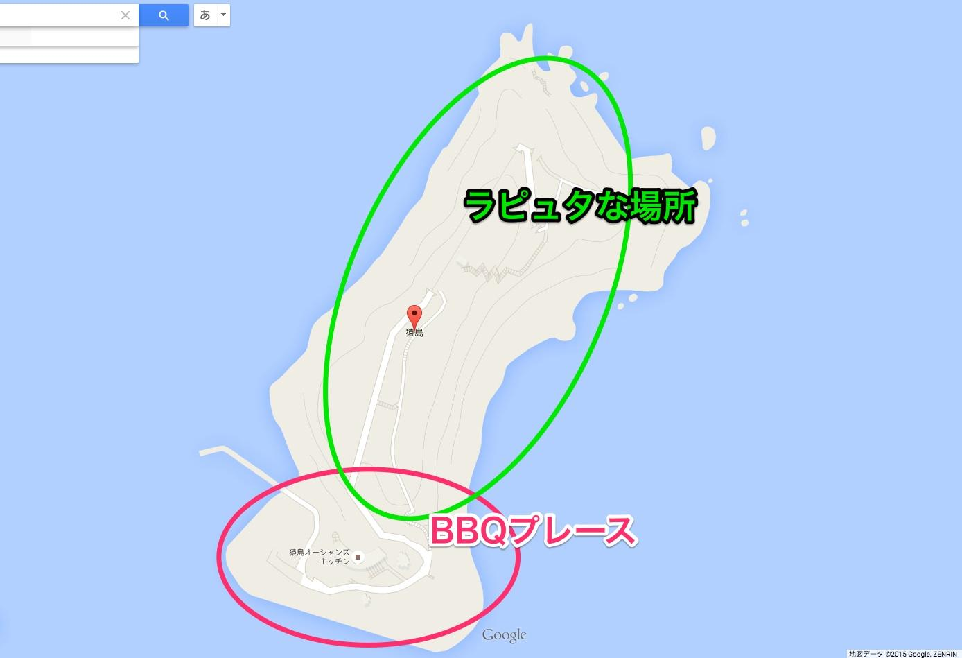 猿島 全体図