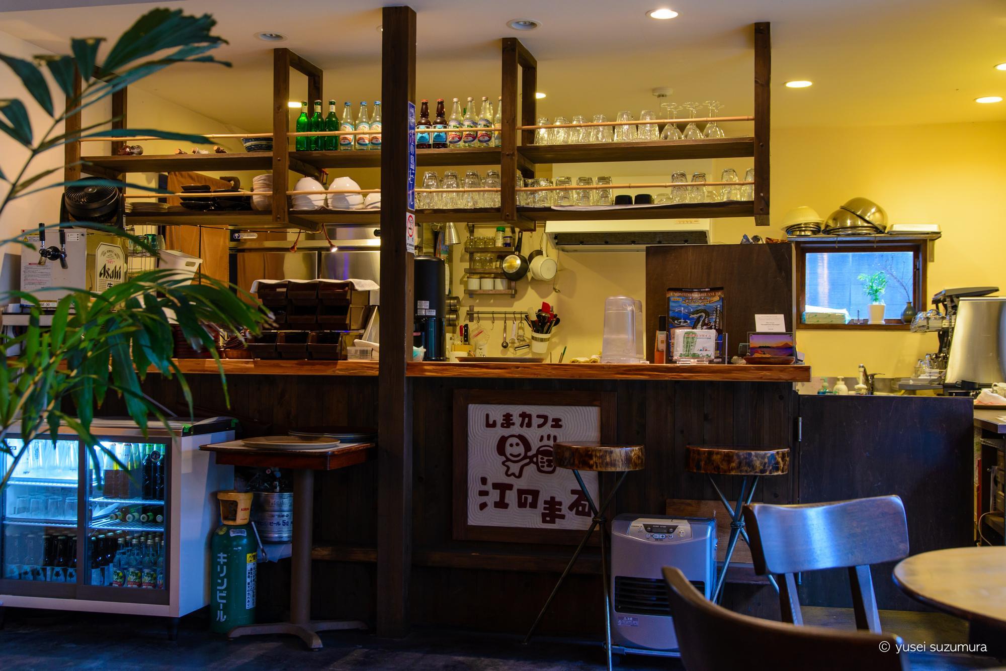 江ノ島 店内 カフェ