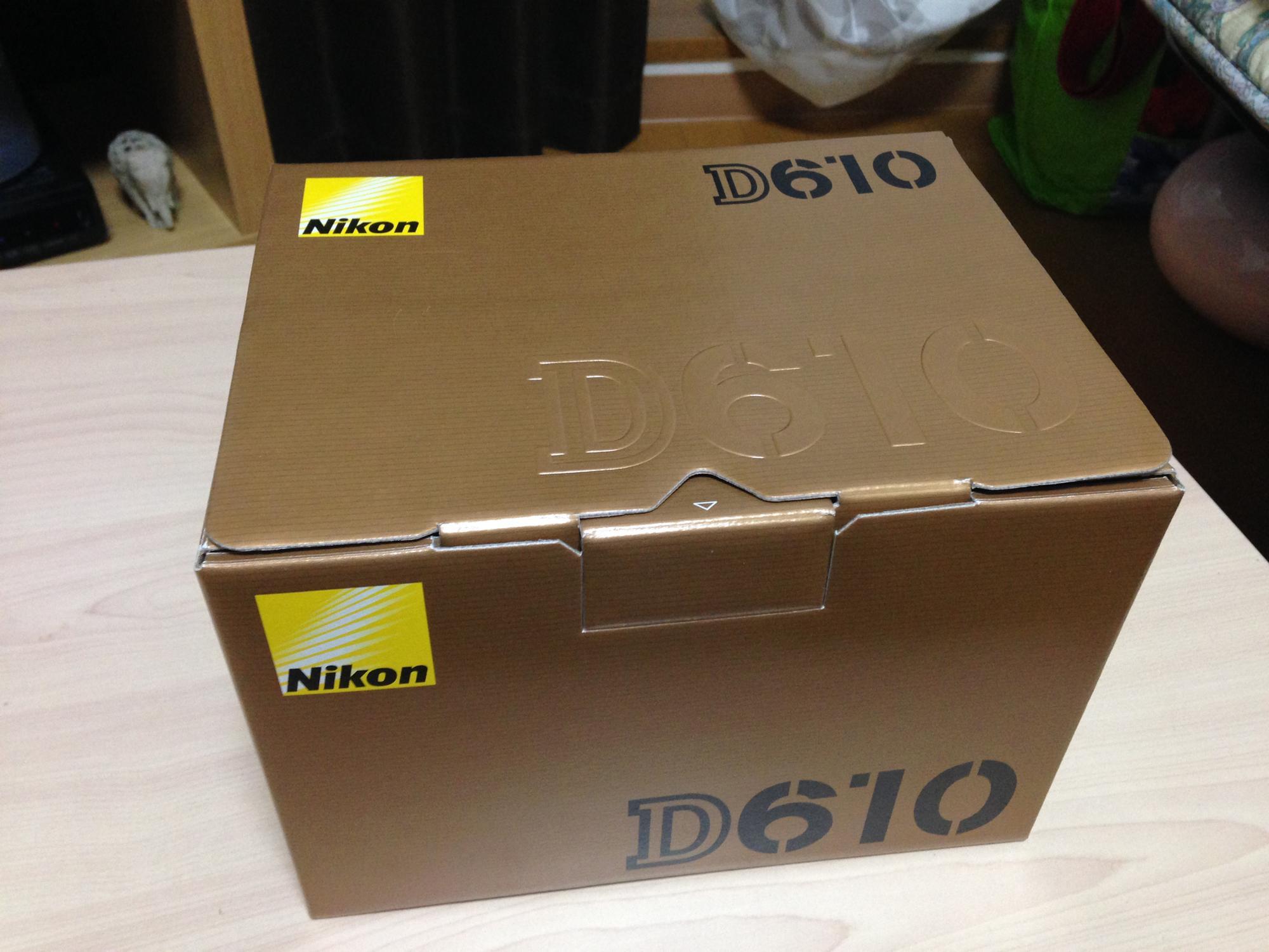 D610 段ボール