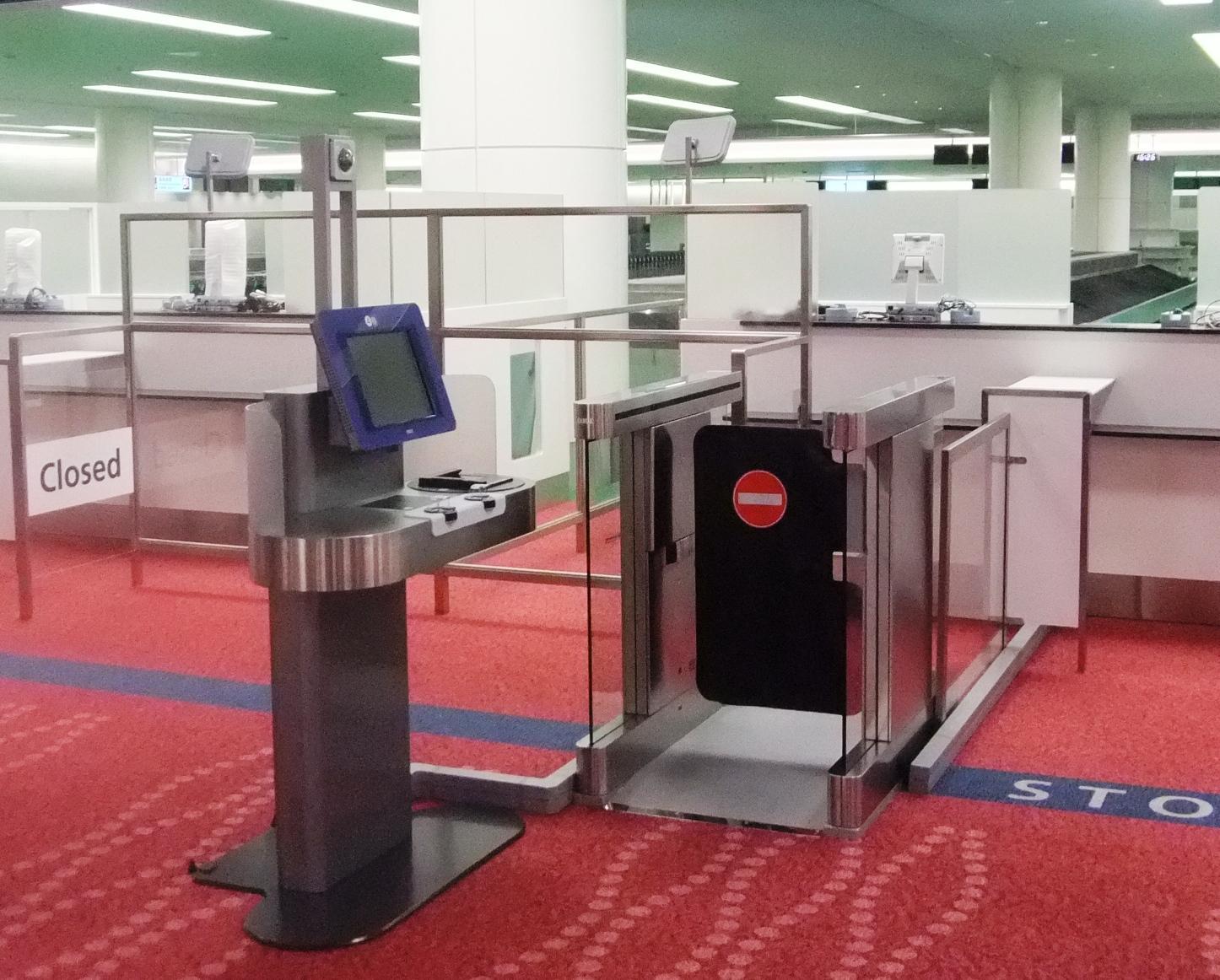 自動化ゲート 空港