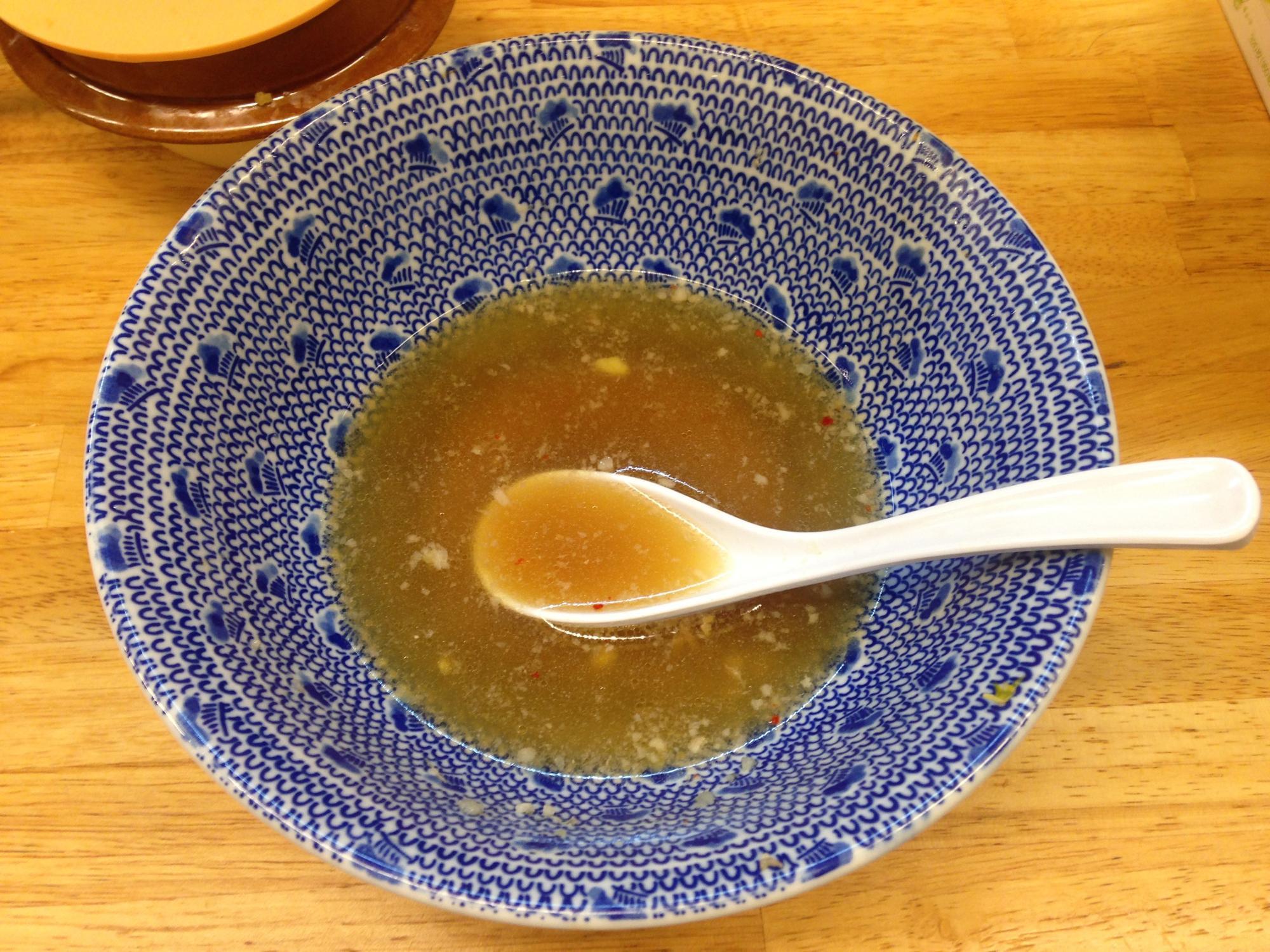 きじとら 完食 スープ