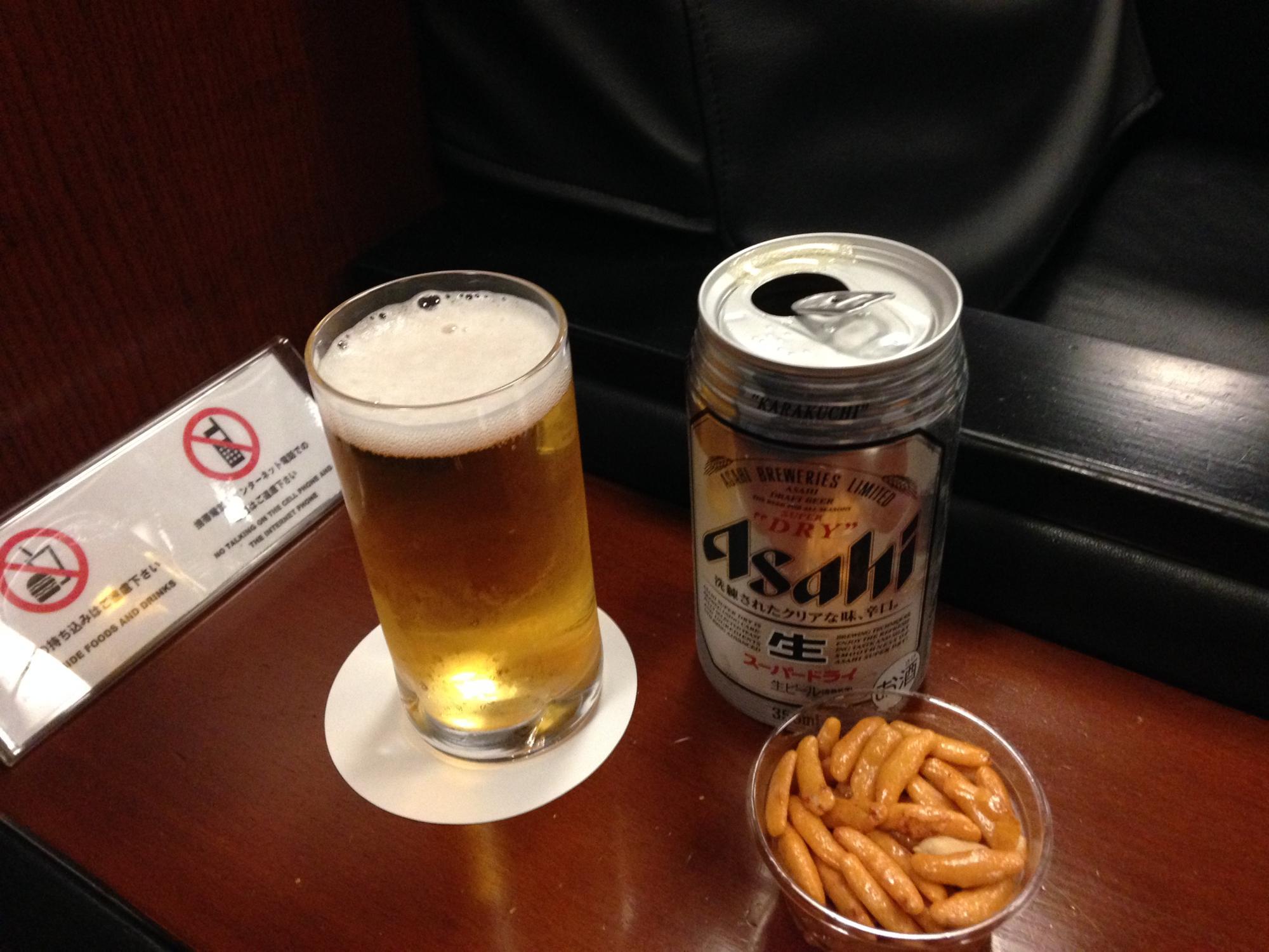 成田空港 ビール カードラウンジ