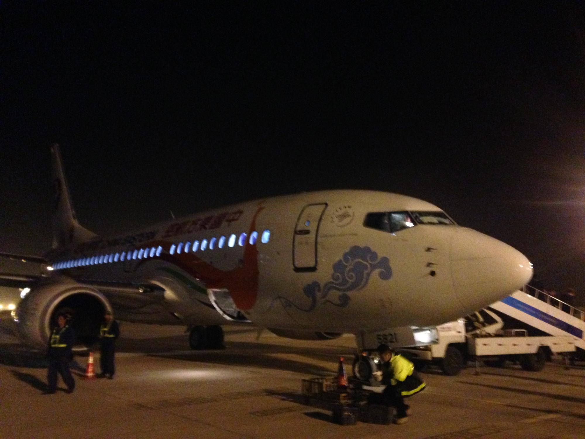 中国東宝航空 飛行機