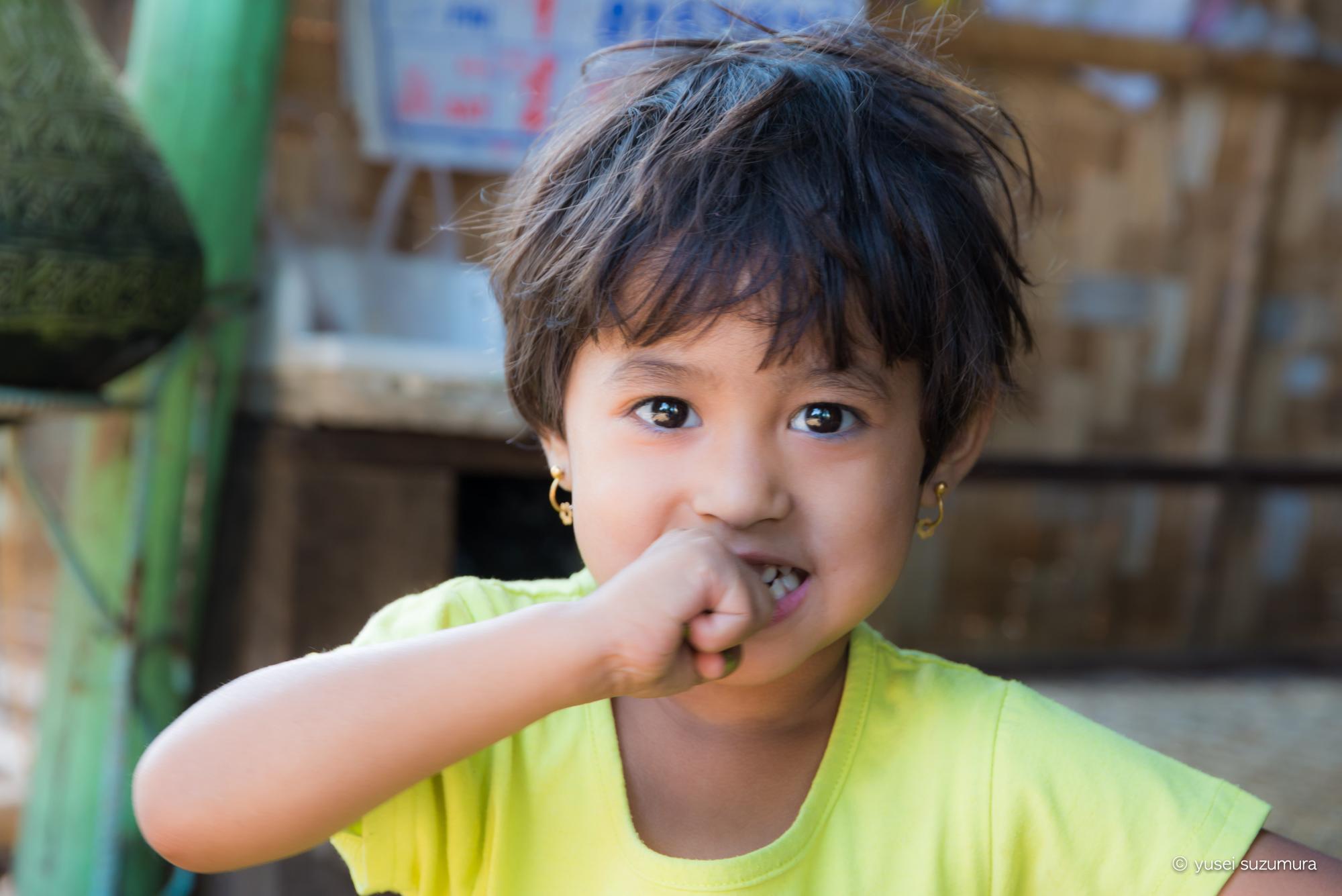 ミャンマーの印象はインドとタイのミックス。