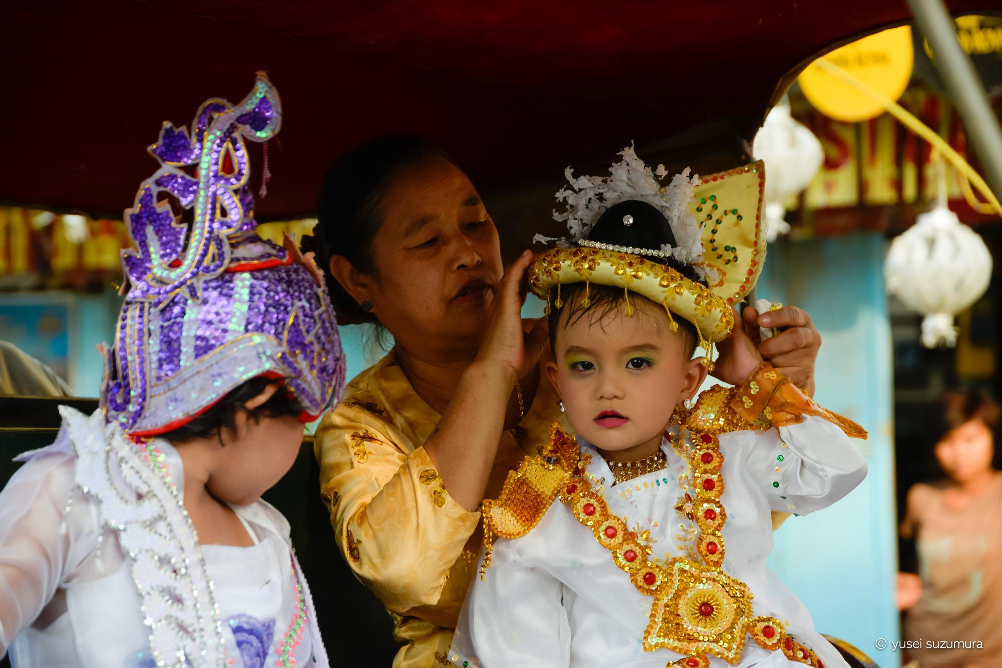 ミャンマー 結婚式