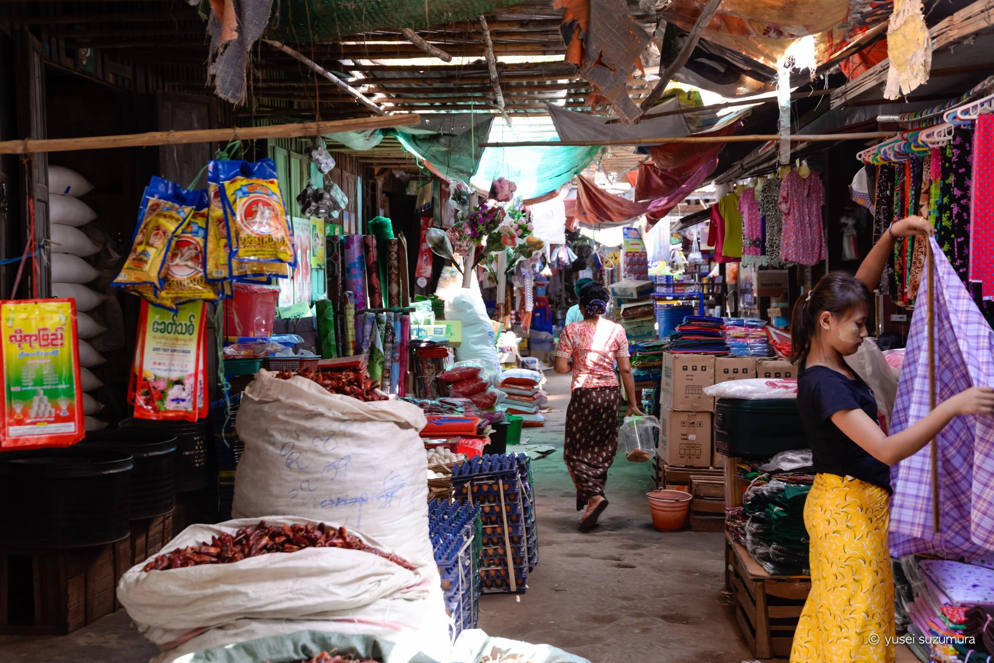ミャンマー 市場