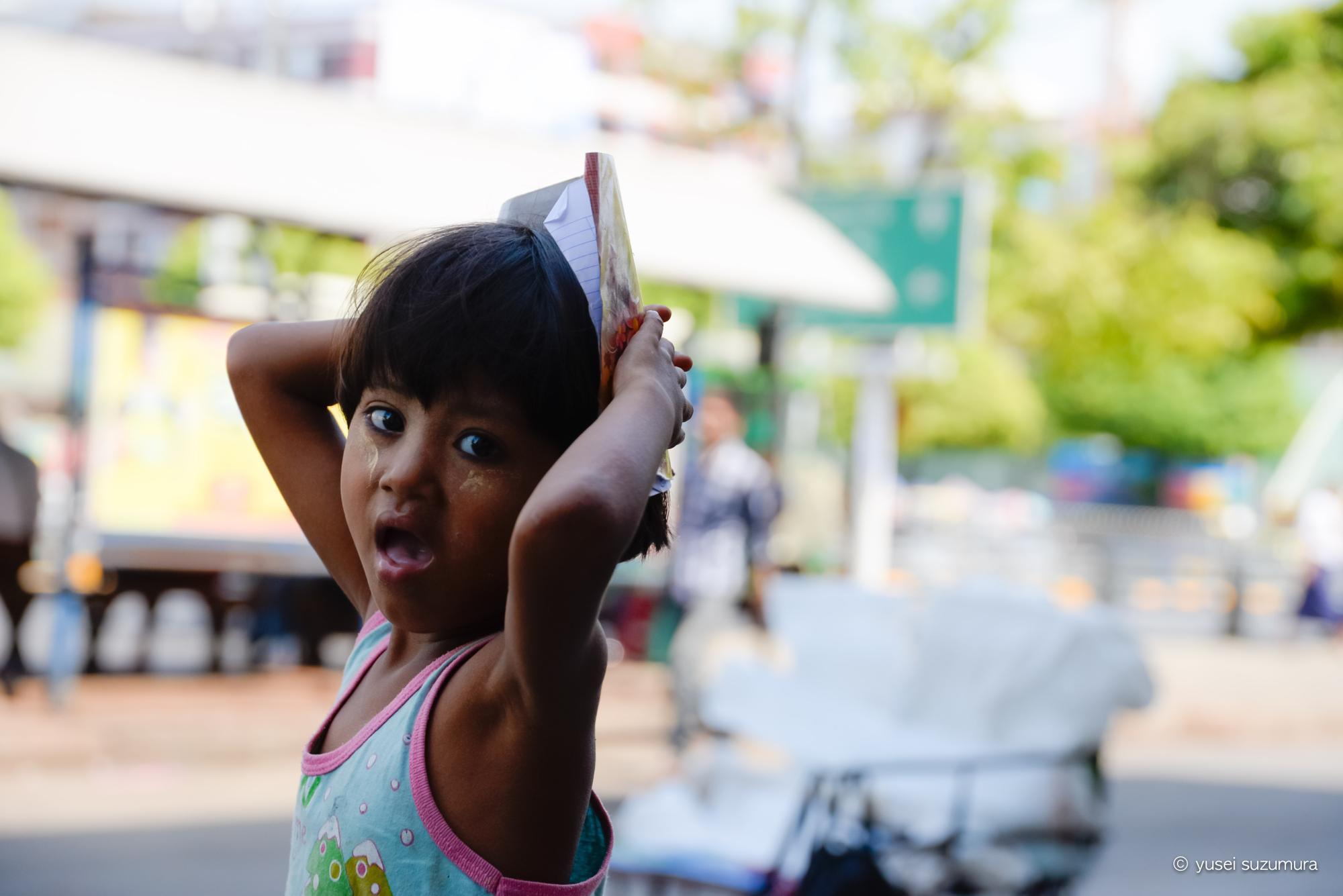 ミャンマー 子供
