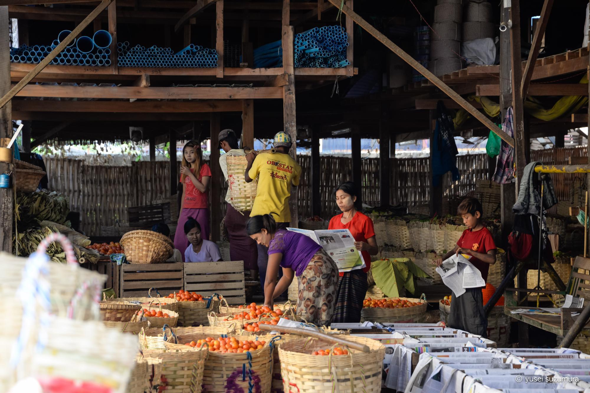 ミャンマー 青果物