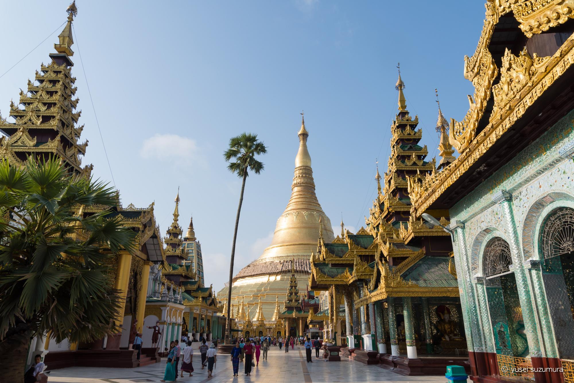 ミャンマー最終日。半日ヤンゴン観光。