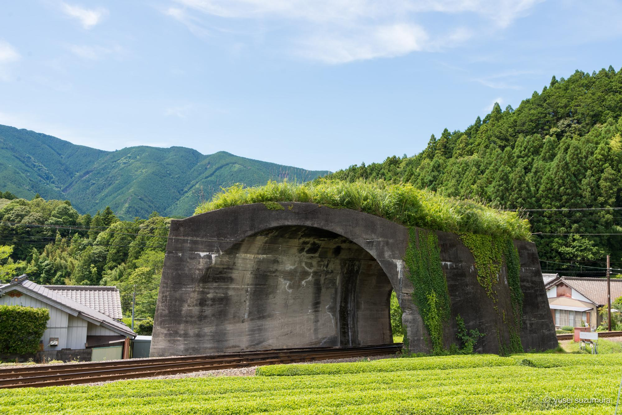 大井川鐵道 日本一短いトンネル
