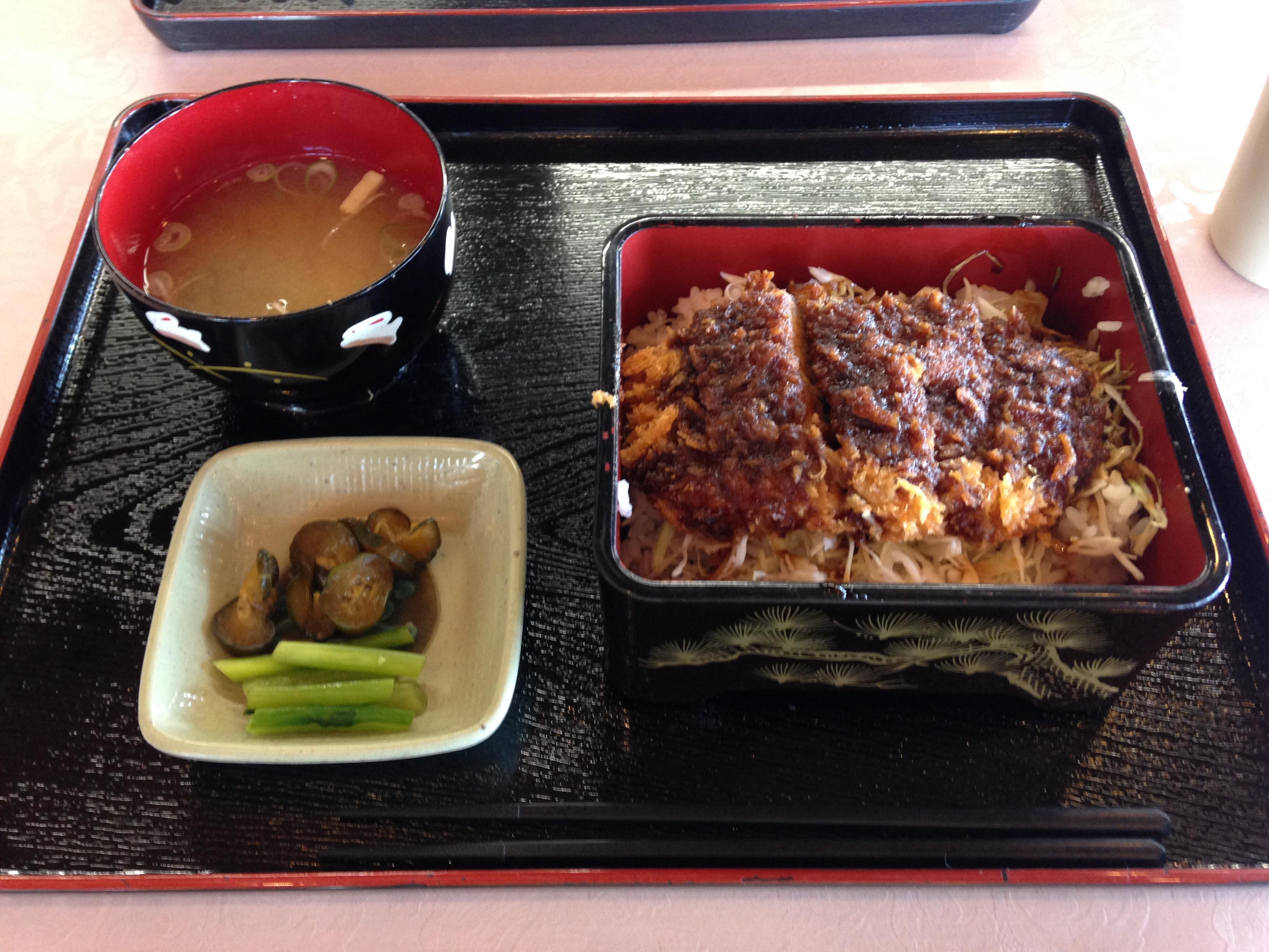 諏訪 ソースカツ丼