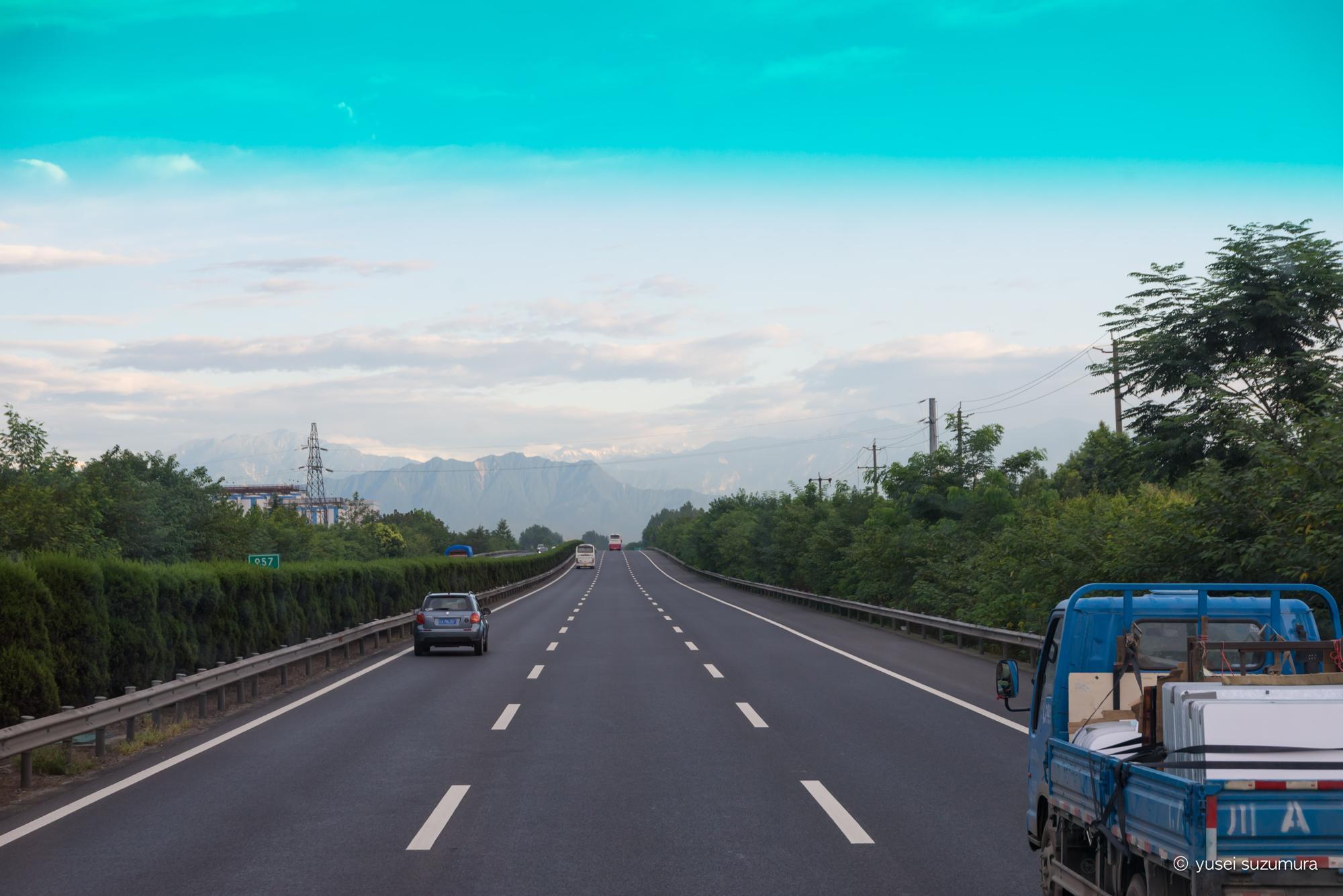 成都 高速道路