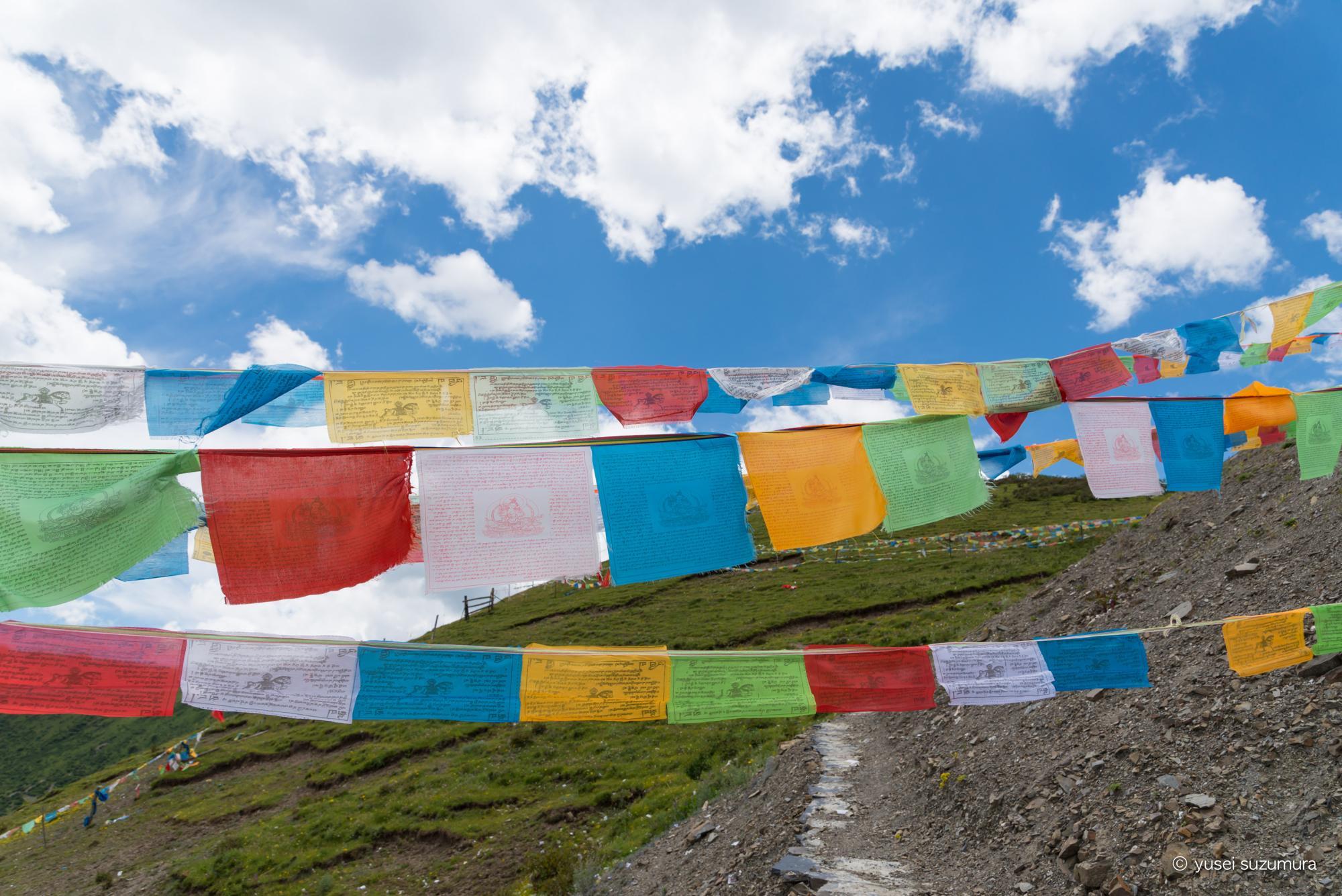 チベット タルチョ
