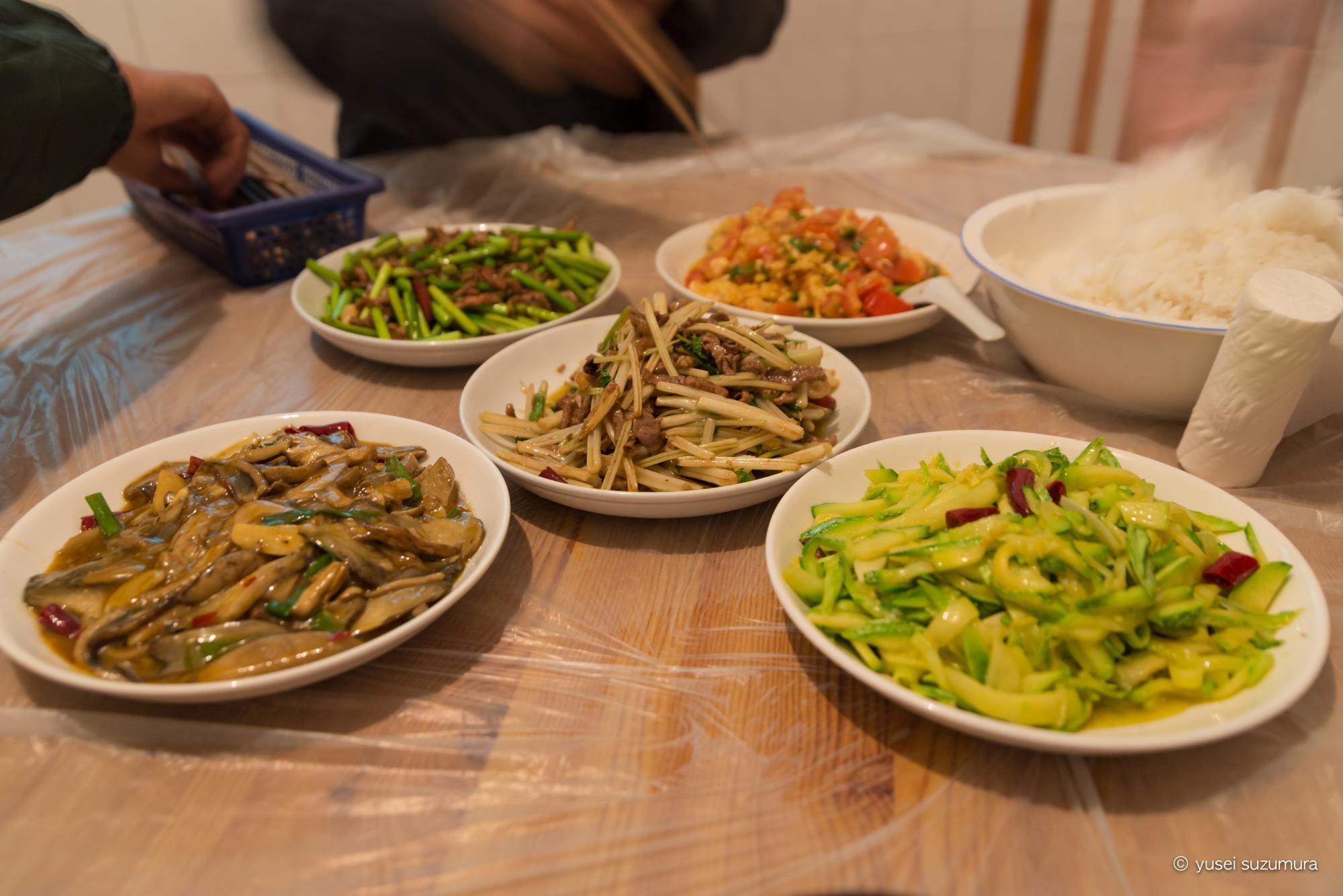 中国 食事