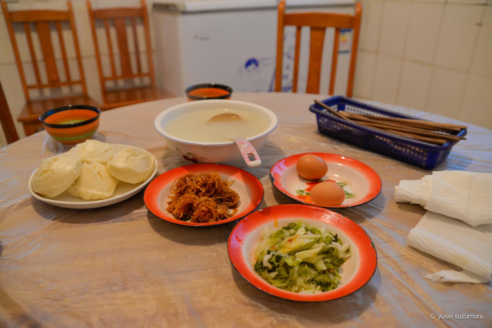 日隆の安宿ご飯