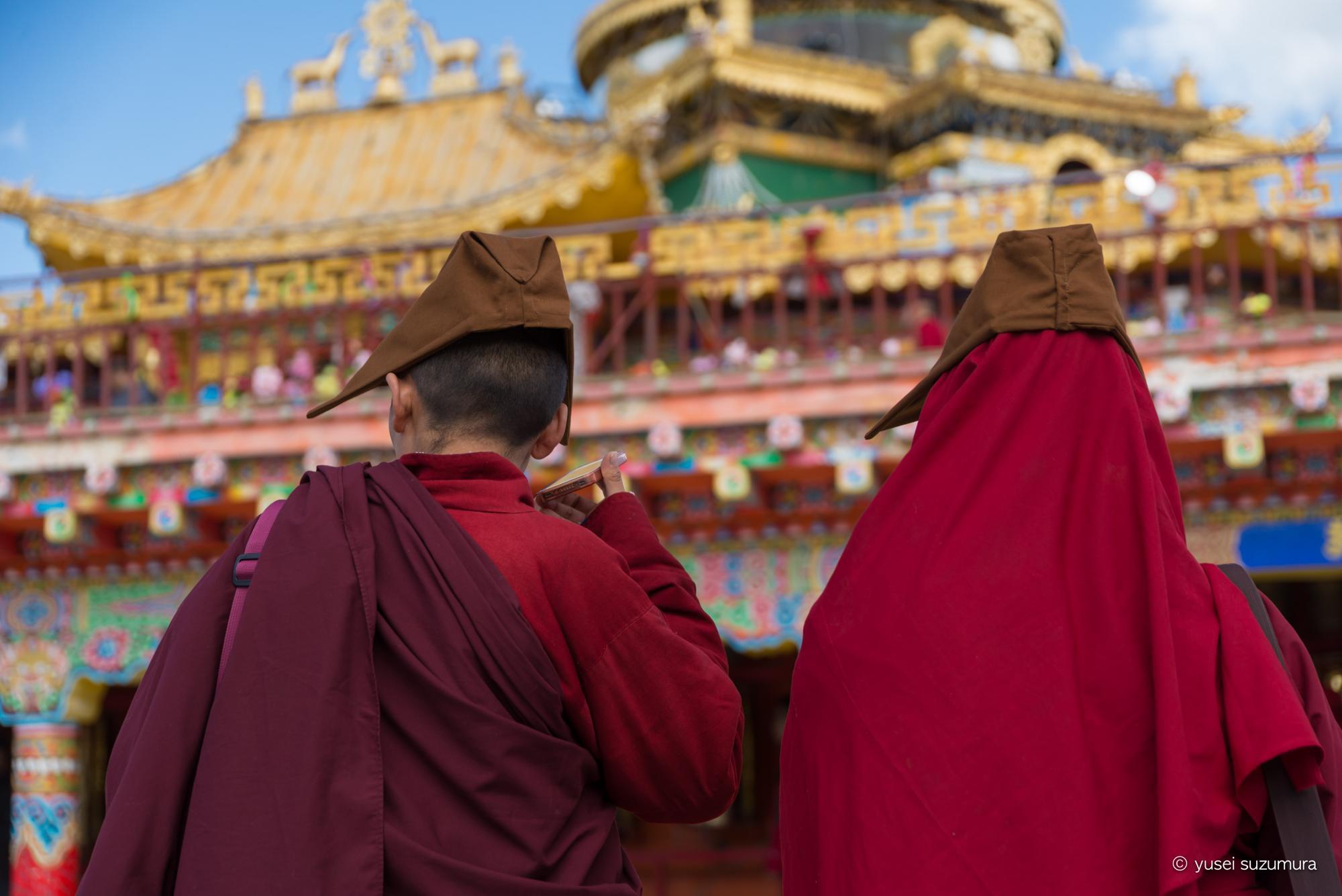 ラルンガルゴンパ チベタン