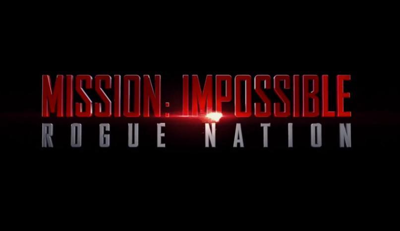 ミッション:インポッシブル/ローグ・ネイション タイトル